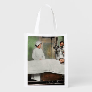 Doctor - Xray - Getting my head examined 1920 Reusable Grocery Bag