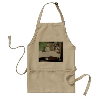 Doctor - Xray - Getting my head examined 1920 Standard Apron
