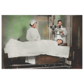 Doctor - Xray - Getting my head examined 1920 Tissue Paper