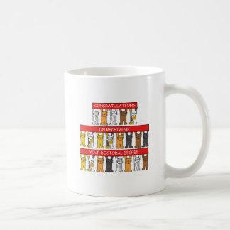 Doctoral Degree Congratulations Coffee Mug