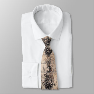 Doctors Art Anatomy by Leonardo da Vinci Tie