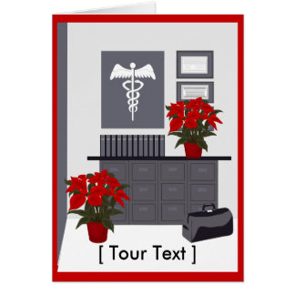 Doctors Christmas  Greeting Card