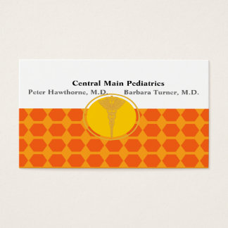 Doctors Medical Apppointment Beehive Retro Simple Business Card
