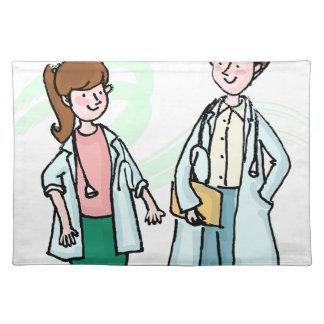 Doctors Talking Placemat