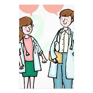 Doctors Talking Stationery