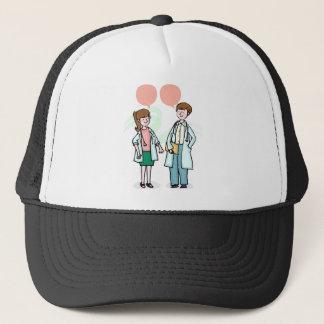 Doctors Talking Trucker Hat