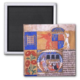 Document of Henry VII Fridge Magnets