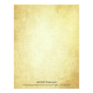 Document Paper Letterhead Template
