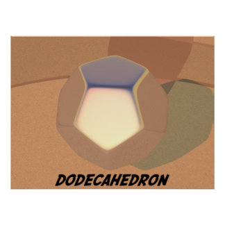 Dodecahedron Print