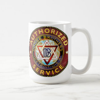 Dodge brothers sign coffee mug