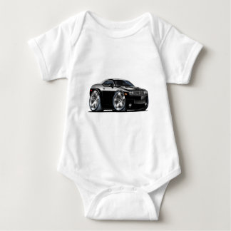 Dodge Challenger Black Car Baby Bodysuit
