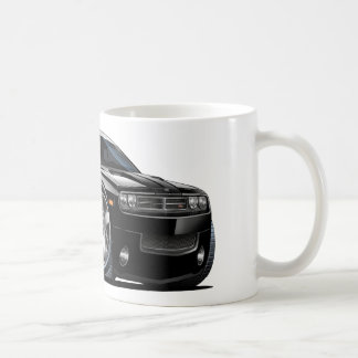 Dodge Challenger Black Car Coffee Mug