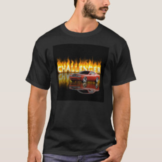 Dodge Challenger Flame T-Shirt