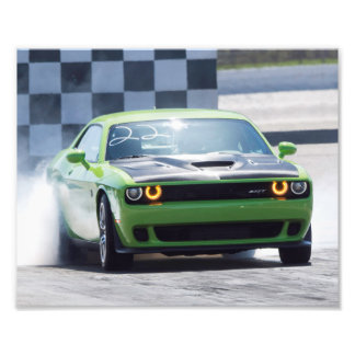 Dodge Challenger Hellcat Photo Print