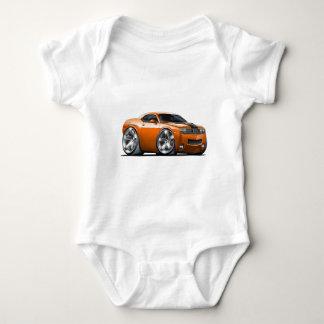 Dodge Challenger Orange Car Baby Bodysuit
