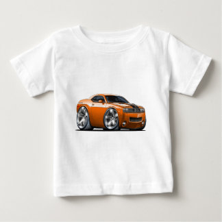 Dodge Challenger Orange Car Baby T-Shirt