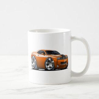 Dodge Challenger Orange Car Coffee Mug