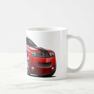 Dodge Challenger Red Car Coffee Mug