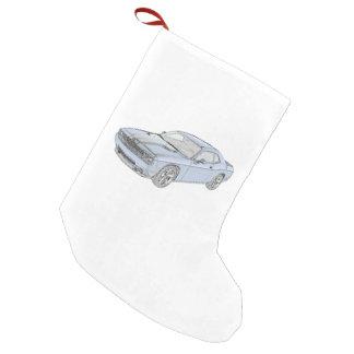Dodge Challenger Small Christmas Stocking