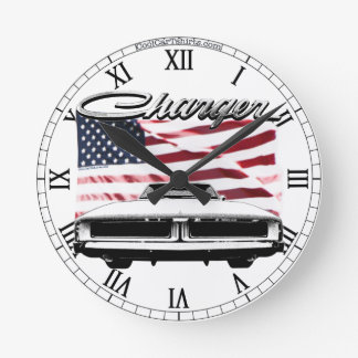 Dodge Charger Clock