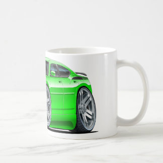Dodge Charger Daytona Green Car Coffee Mug