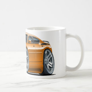 Dodge Charger Daytona Orange Car Coffee Mug