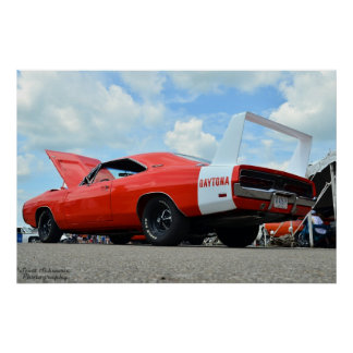 Dodge Charger Daytona Poster
