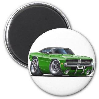Dodge Charger Green Car Magnet