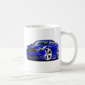 Dodge Charger RT Blue Car Coffee Mug
