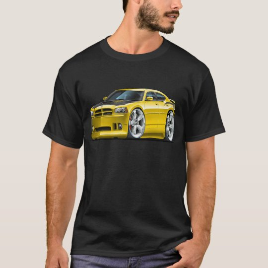 Dodge Charger Super Bee Yellow Car T-Shirt