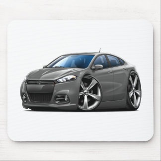 Dodge Dart Steel Grey-Black Grill Car Mouse Pad