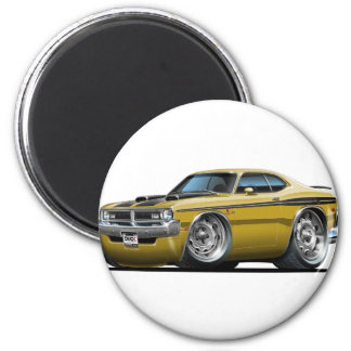 Dodge Demon Gold Car Magnet