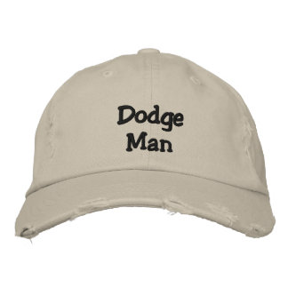 Dodge Man Embroidered Hats
