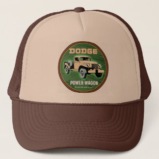 dodge power wagon trucker hat