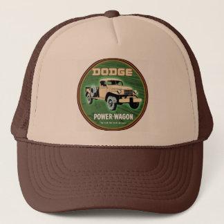 dodge power wagon trucker hat