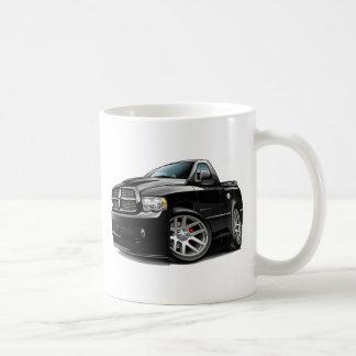 Dodge SRT10 Ram Black Classic White Coffee Mug