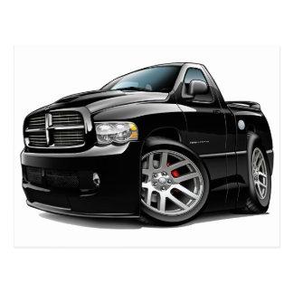 Dodge SRT10 Ram Black Postcard