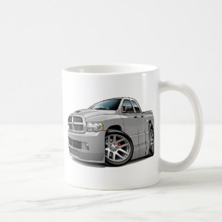 Dodge SRT10 Ram Dualcab Grey Classic White Coffee Mug