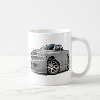 Dodge SRT10 Ram Dualcab Grey Classic White Coffee Mug
