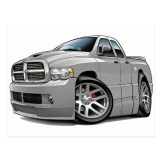Dodge SRT10 Ram Dualcab Grey Postcard
