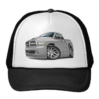 Dodge SRT10 Ram Dualcab Grey Trucker Hat