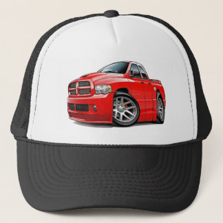 Dodge SRT10 Ram Dualcab Red Trucker Hat