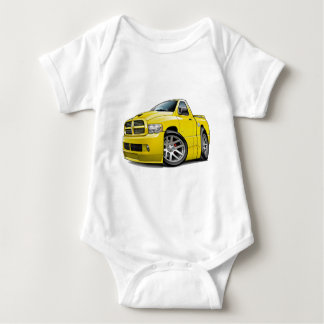 Dodge SRT10 Ram Yellow Baby Bodysuit