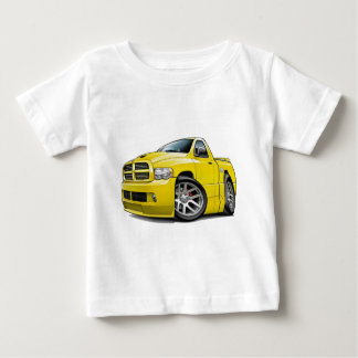 Dodge SRT10 Ram Yellow Baby T-Shirt
