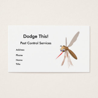 Dodge This! Pest Control - Business Business Card