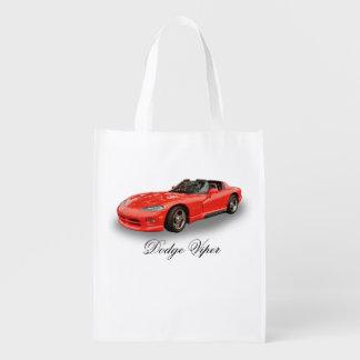 DODGE VIPER GROCERY BAG