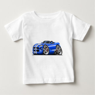 Dodge Viper Roadster Blue-White Car Baby T-Shirt
