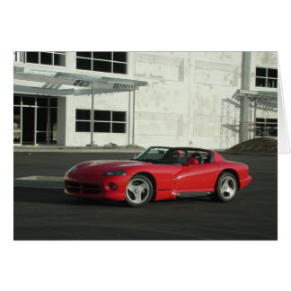 Dodge Viper RT/10 Card