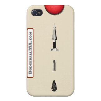 Dodgeball Evolution iPhone 4 - sand - horizontal iPhone 4/4S Cases
