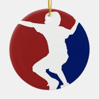 Dodgeball League Ceramic Ornament